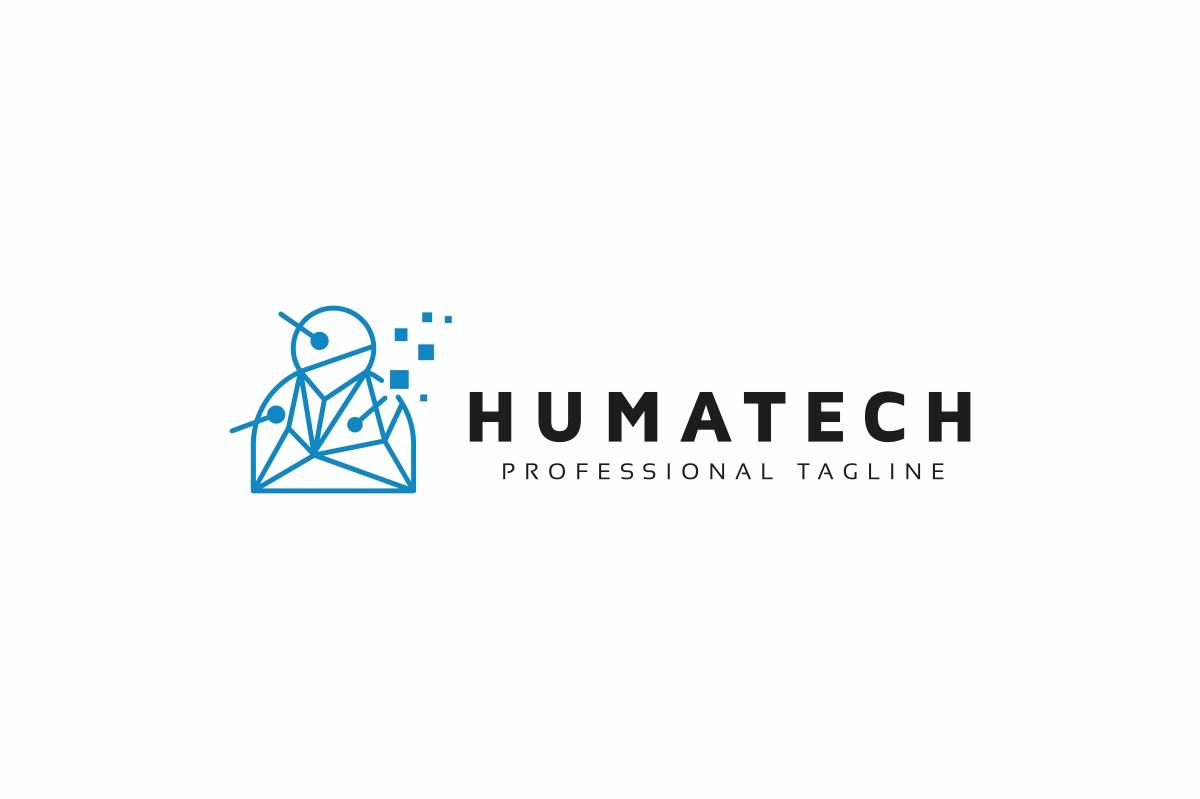 Human Technology Logo example image 3
