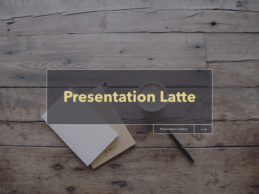 Latte Keynote Template example image 6