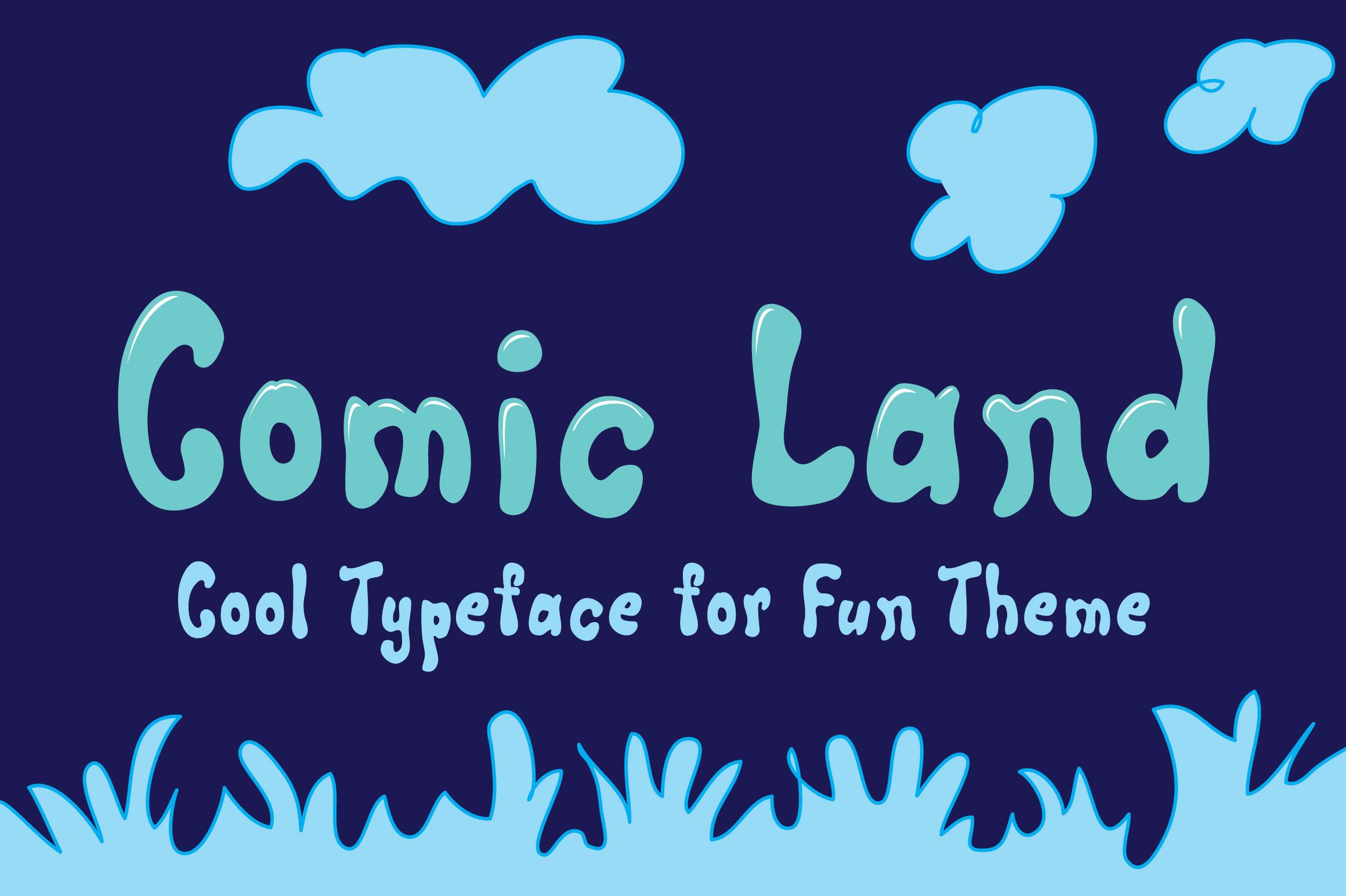 Comic Land example image 1