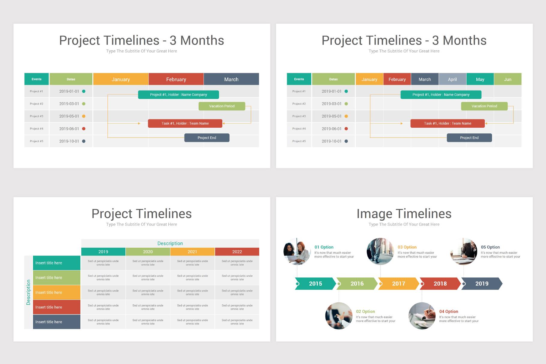 Keynote Timeline Infographics Pack-2 example image 12