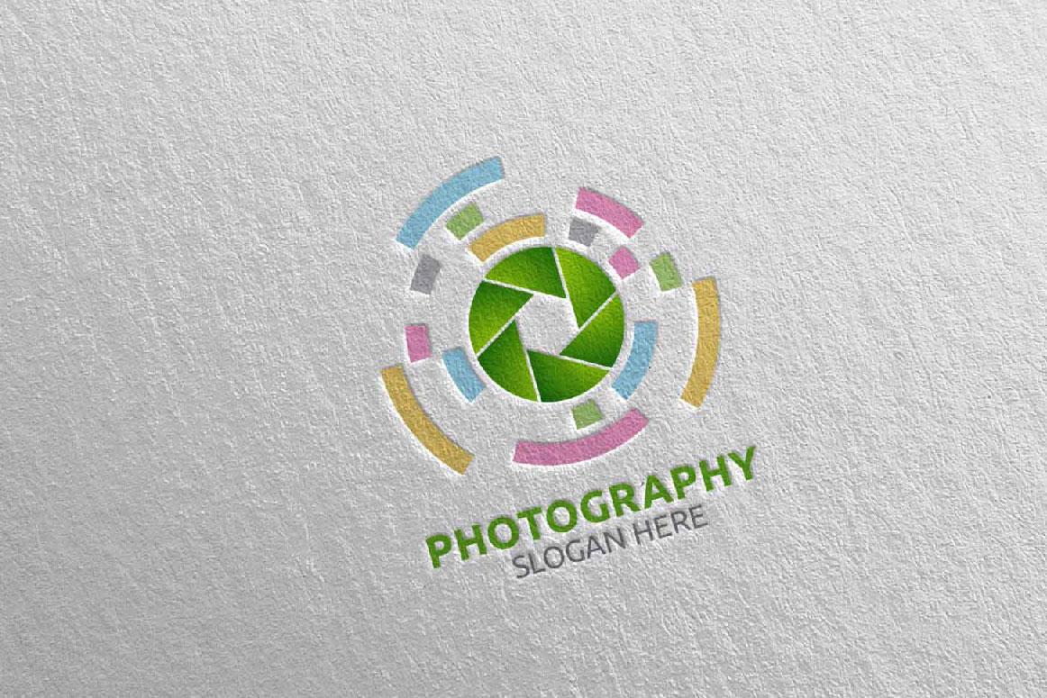 Abstract Camera Photography Logo 16 example image 5