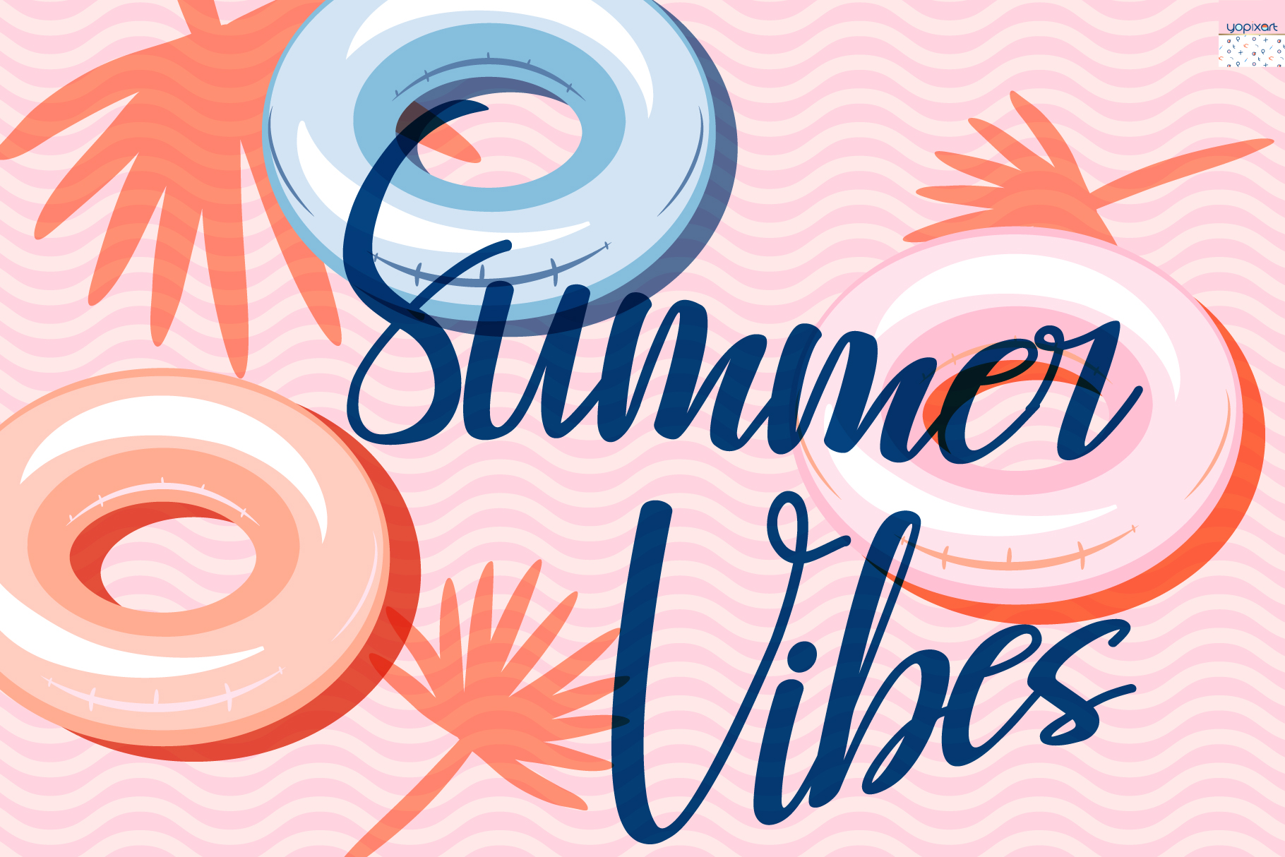 Summer Vibes - Graphics & Patterns example image 7