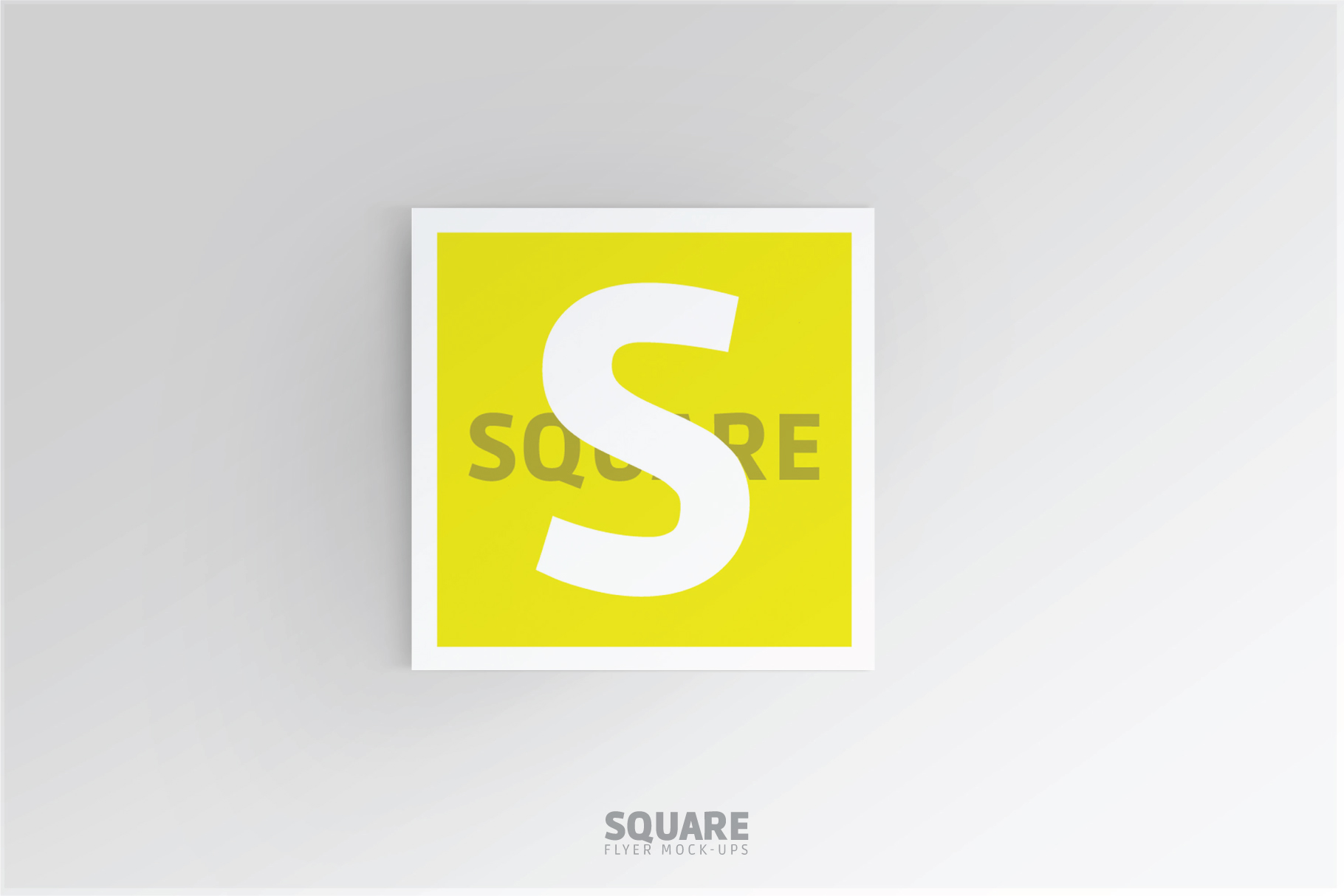 Square Flyer Mock-Up example image 7