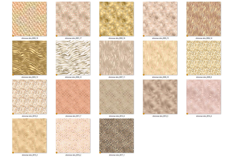 Shimmer Animal Print Digital Paper example image 5