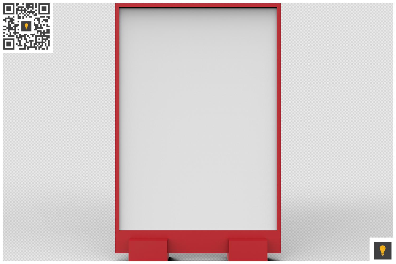 Flyer Display 3D Render example image 7
