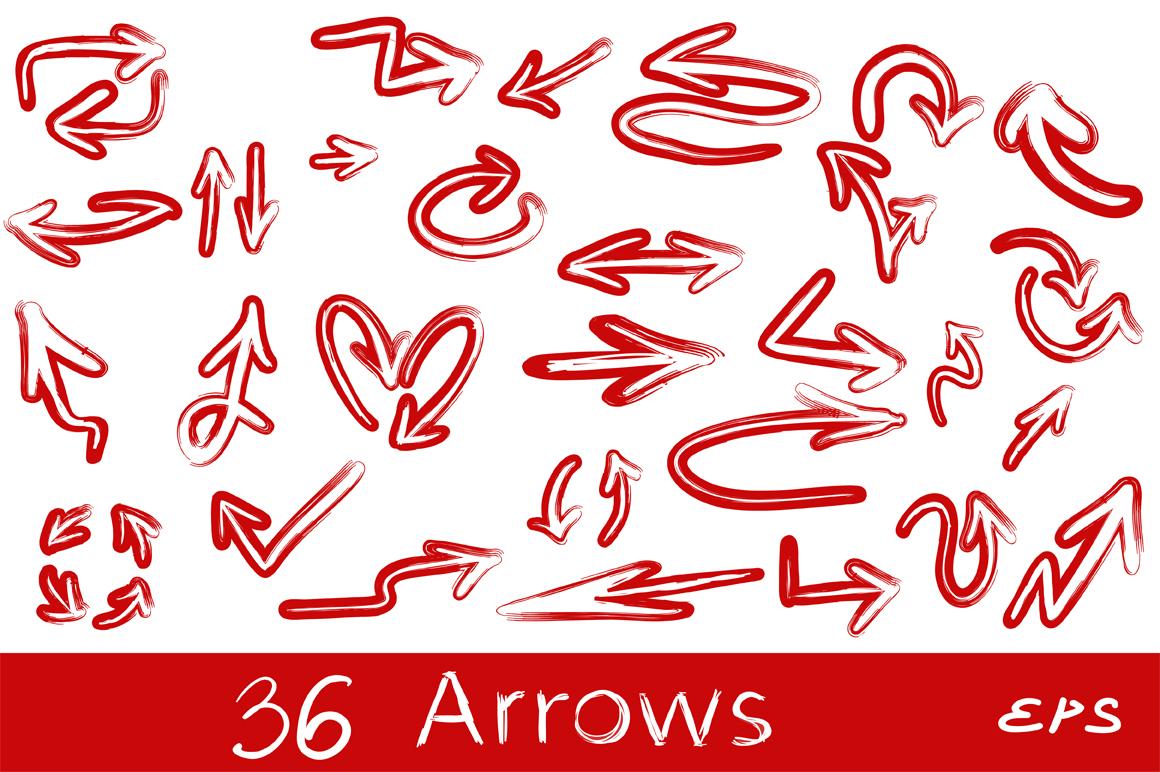 50 Arrows bundle. Vol. 2 example image 2