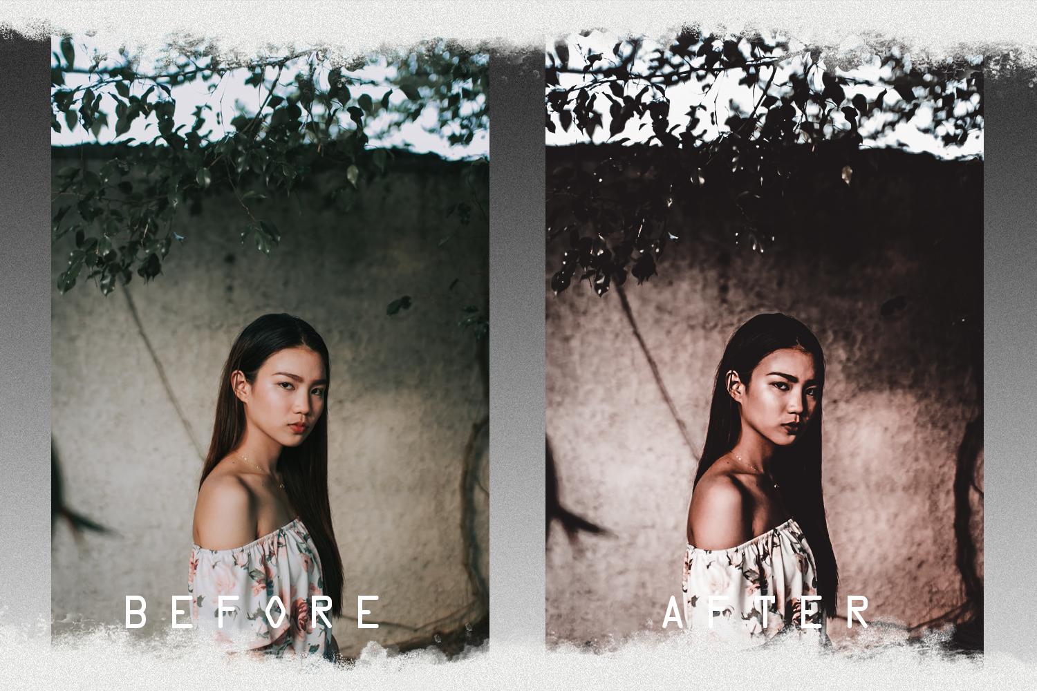 Nude presets for mobile and PC photo filter, photo effect example image 4