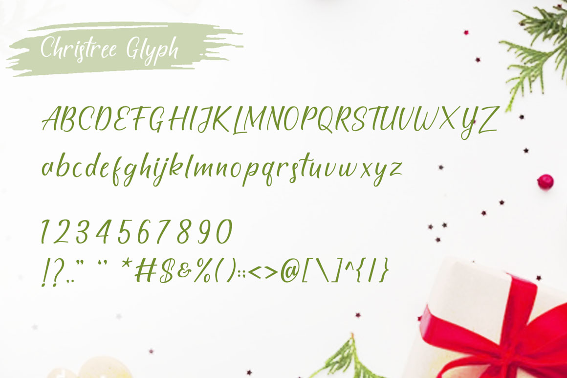 Christree - Handwritten Christmas example image 6