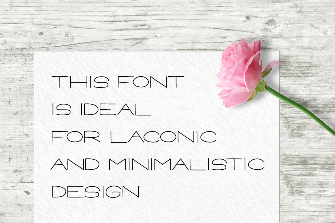 CARAMEL - Hand drawn Sans Serif font example image 5