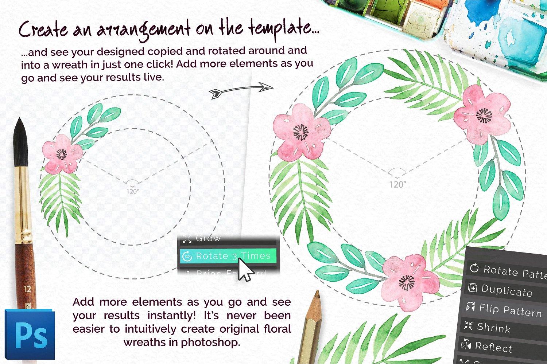 Universal Wreath Creator Pro example image 2