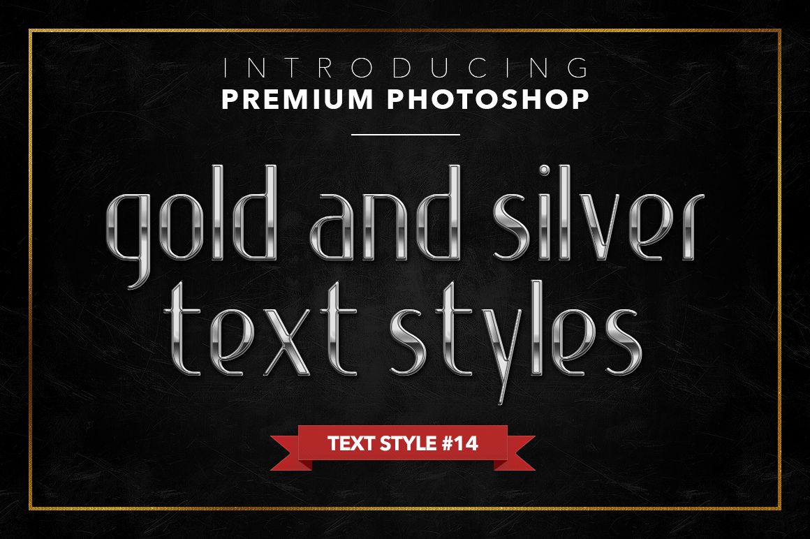 Gold & Silver #1 - 20 Text Styles example image 11