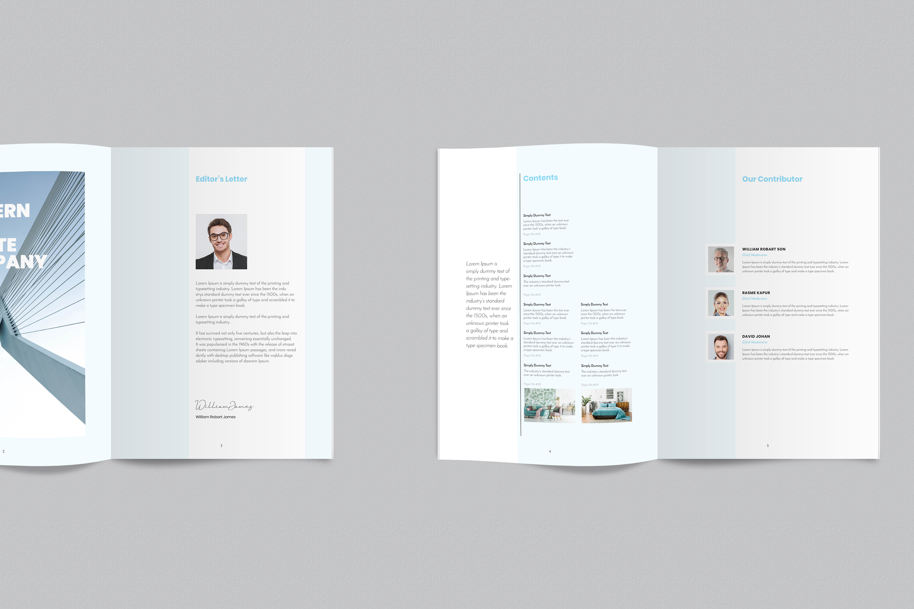 InDesign NANO Magazine Template example image 3