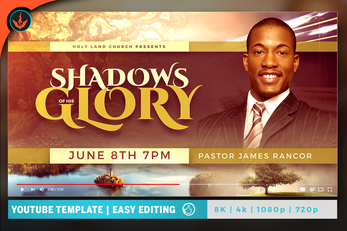 Shadows of His Glory Video Thumbnail Artwork example image 1