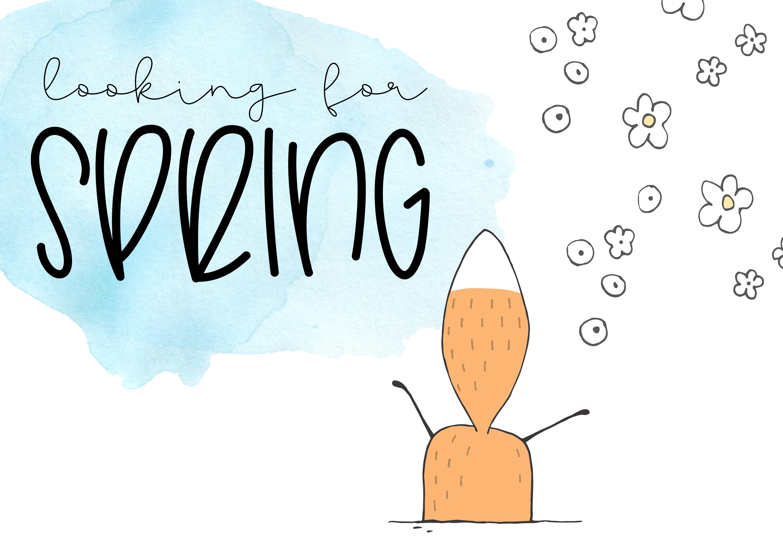 Hoptrot - A Cute Handwritten Font example image 5