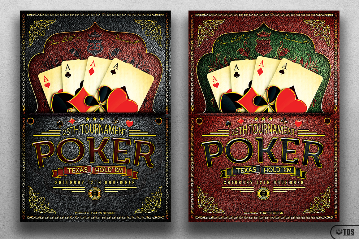 Poker Tournament Flyer Template example image 1