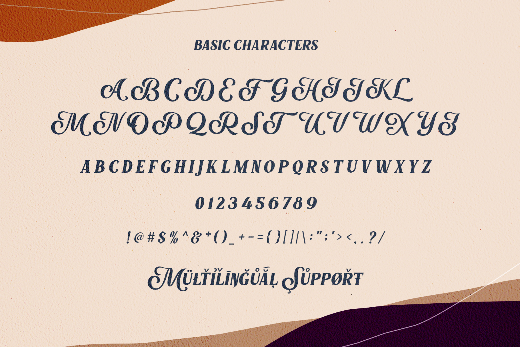 Marons Font example image 9