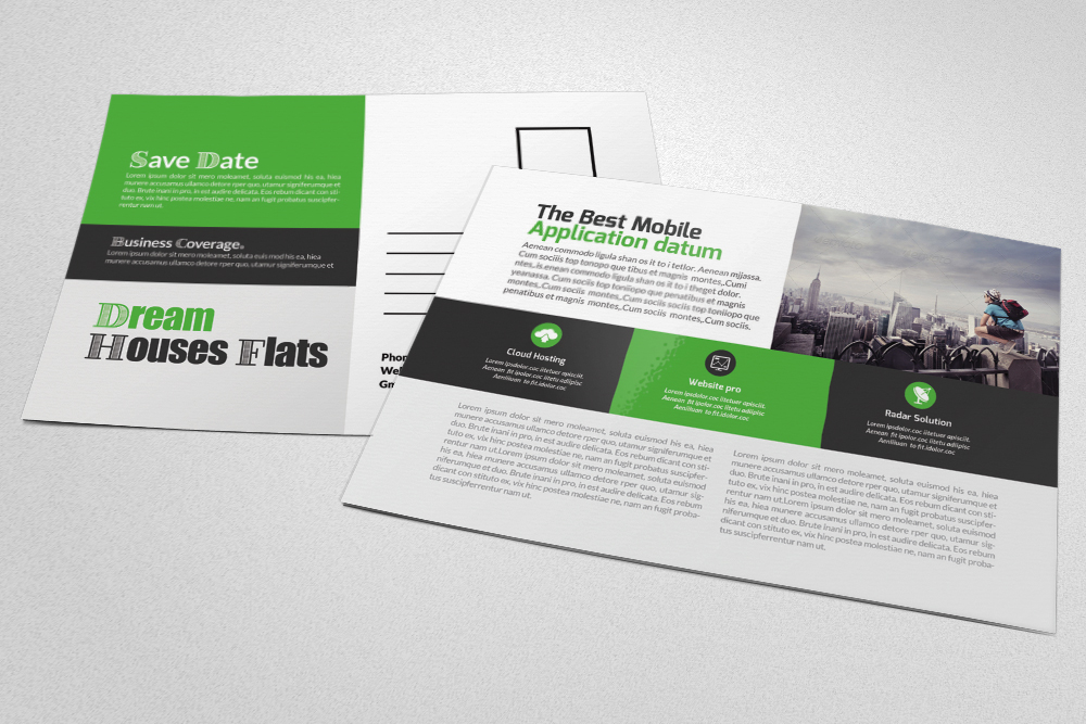 Business Agency Postcards example image 3