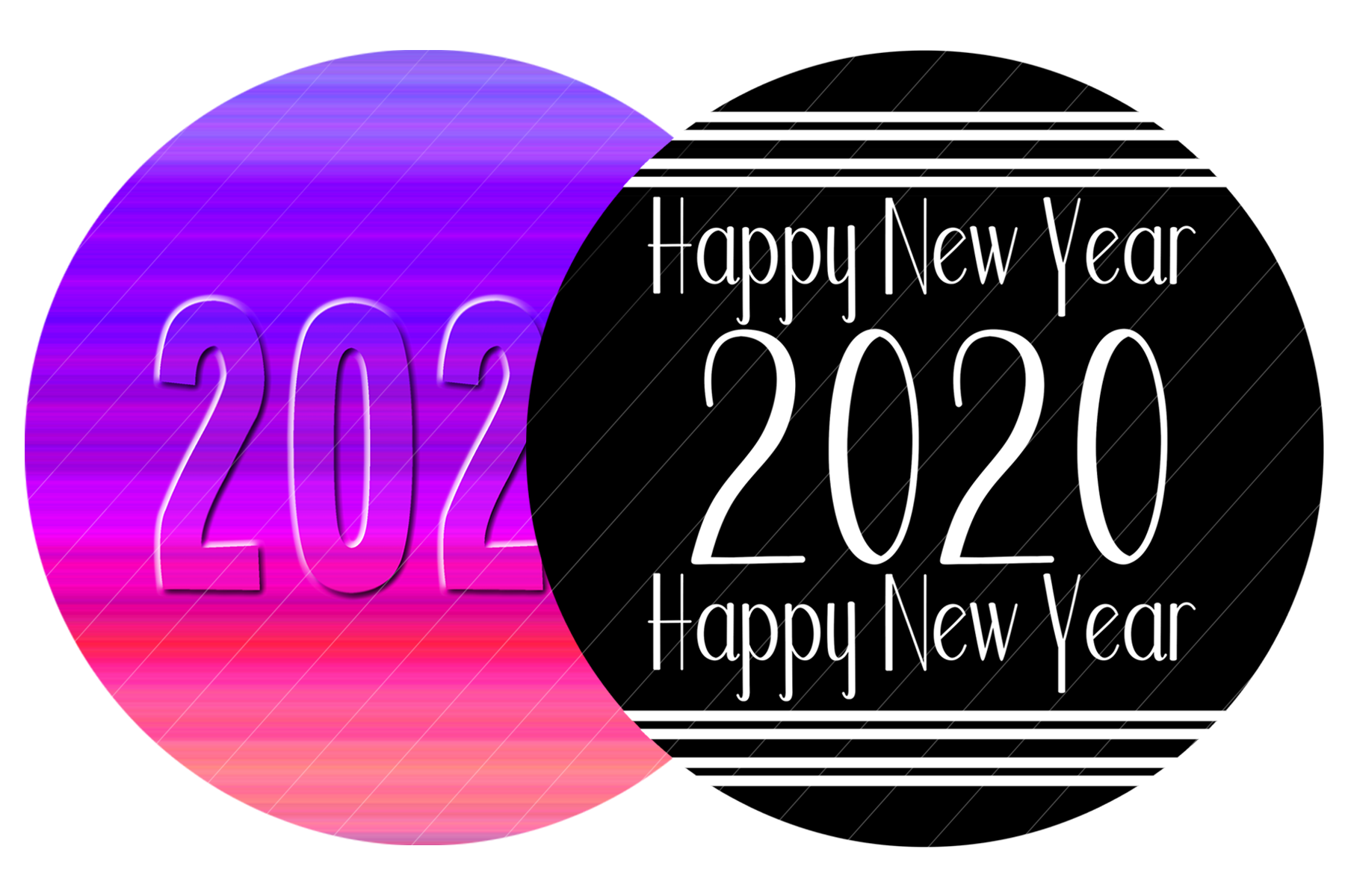 2020 New Year Designs for PRINTING, High Resolution example image 5