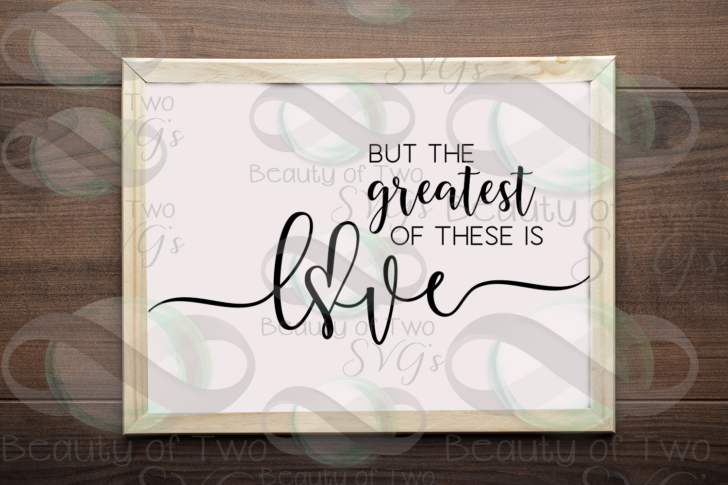 The greatest of these is love Corinthians 13 svg & png example image 1