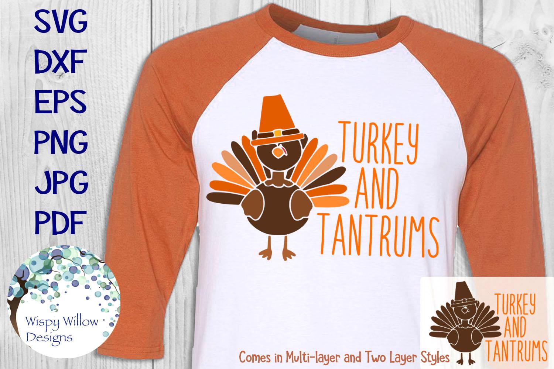 Thanksgiving Turkey Shirt Bundle | Fall | Autumn | SVG example image 4