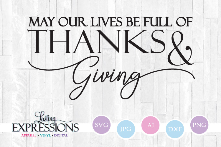 Thanksgiving Quote // Fall Craft Quote example image 1