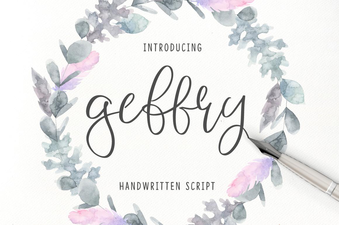 Geffry Script example image 1