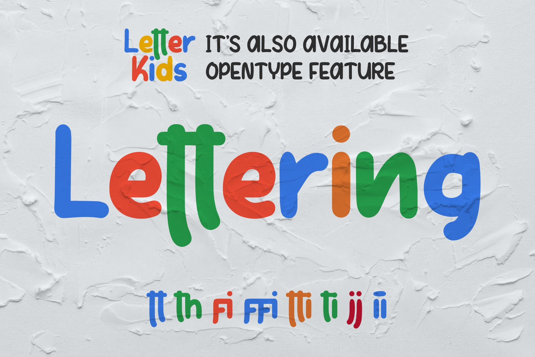 LETTER KIDS Display Fonts example image 6