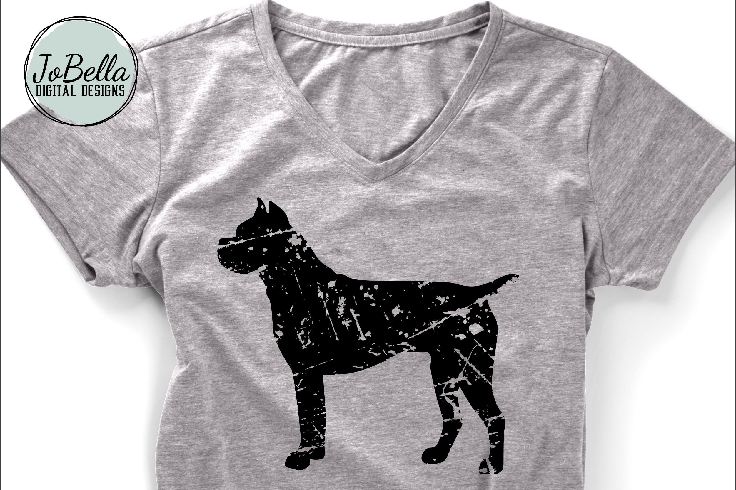Distressed Dogs Bundle - Popular Dog Breed Grunge Designs example image 4