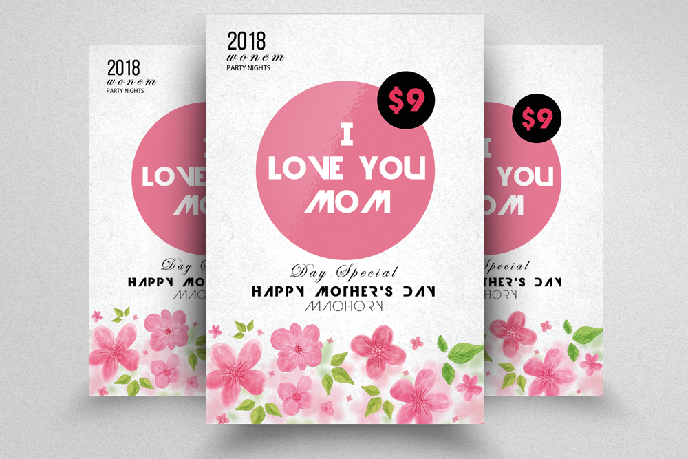 Mother's Day Flyer example image 1