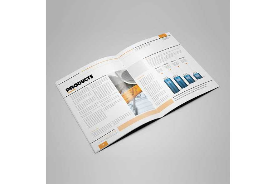 100 Pages Corporate Plan Us Letter example image 4