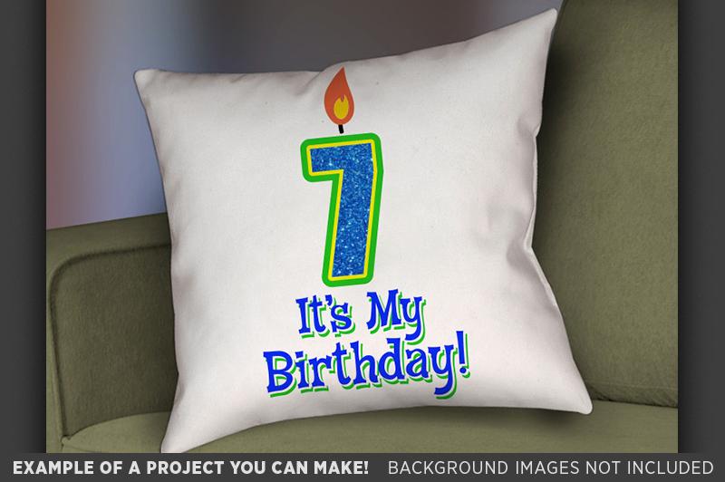 7th Birthday Svg - Its My Birthday SVG Birthday Shirt - 1034 example image 3