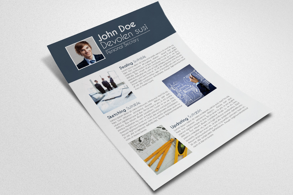 Cv Resume Office Templates example image 3