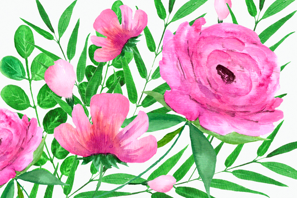Flowers of the Valley Clip Art Set example image 4