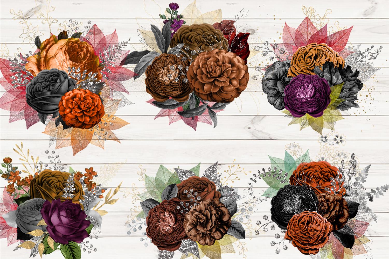 Autumn Floral Bouquets example image 2
