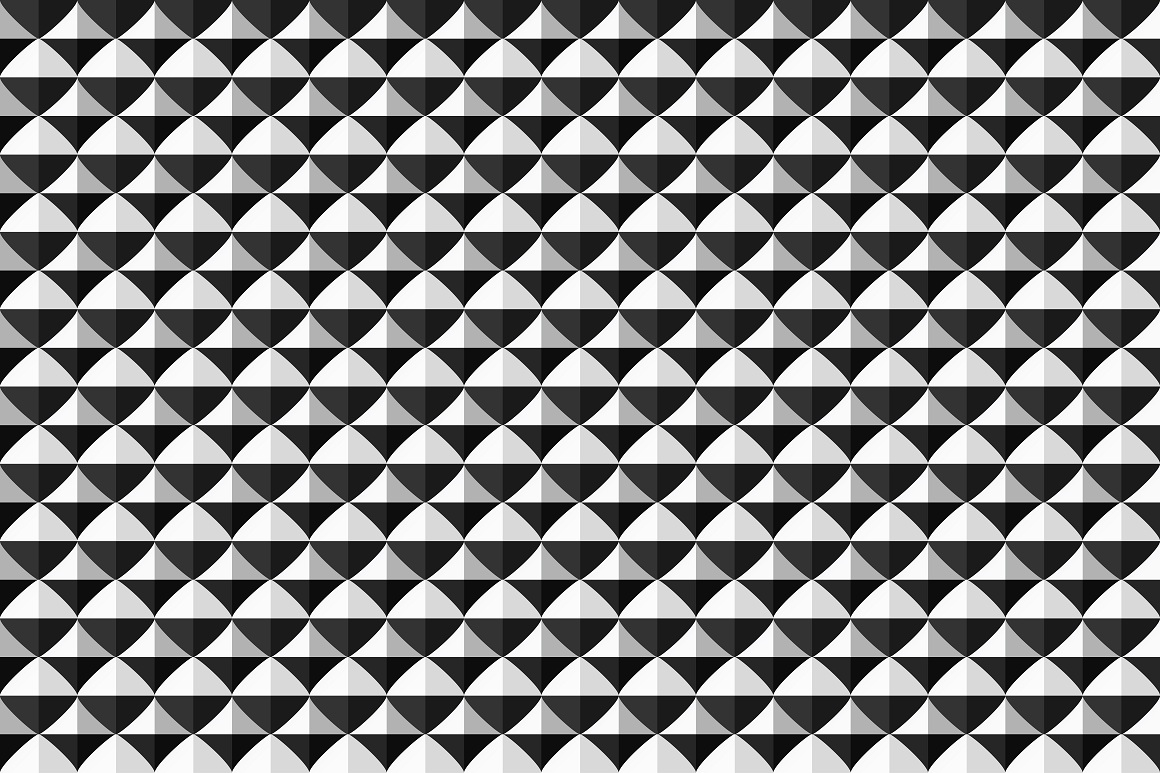 Geometric seamless modern patterns. example image 13