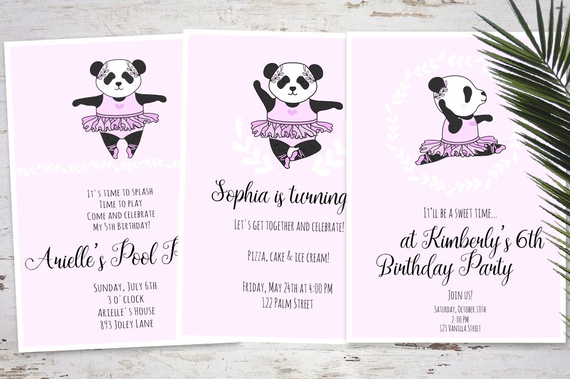 Panda Ballerina Set example image 6