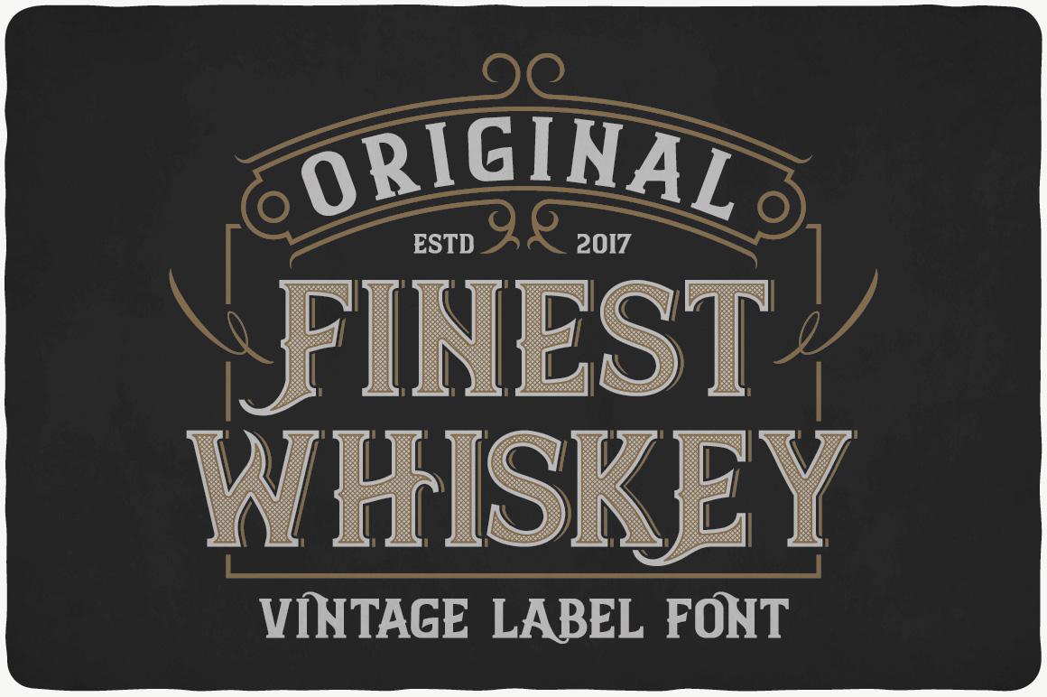 Whiskey Fonts Bundle example image 9