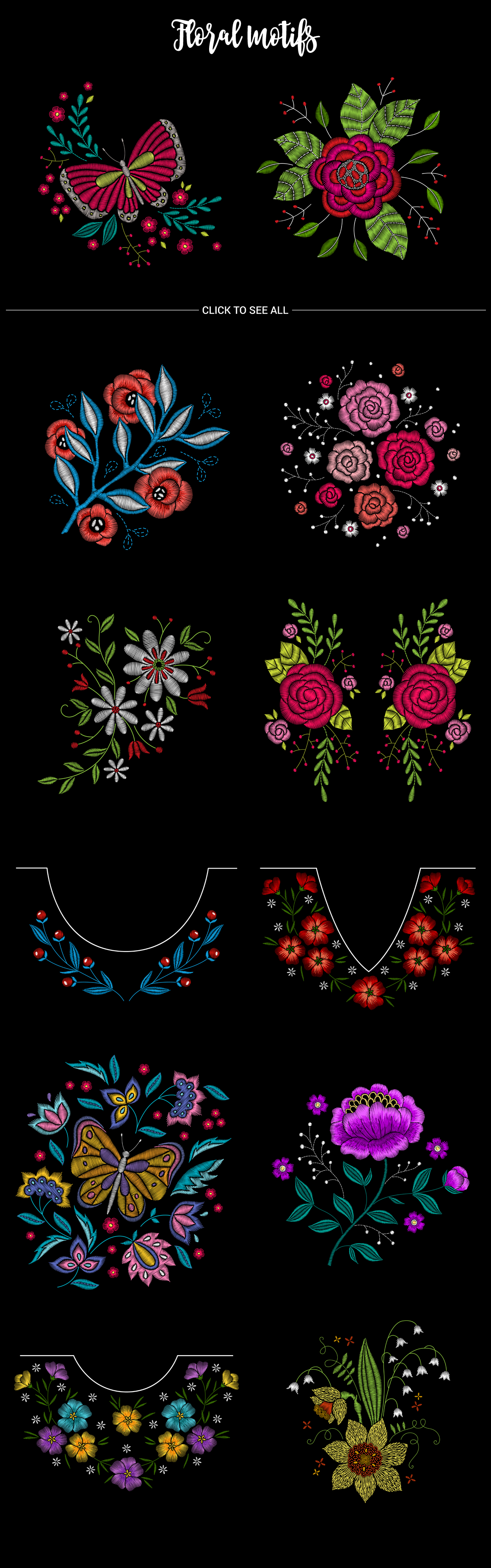 Huge Embroidery Bundle example image 5