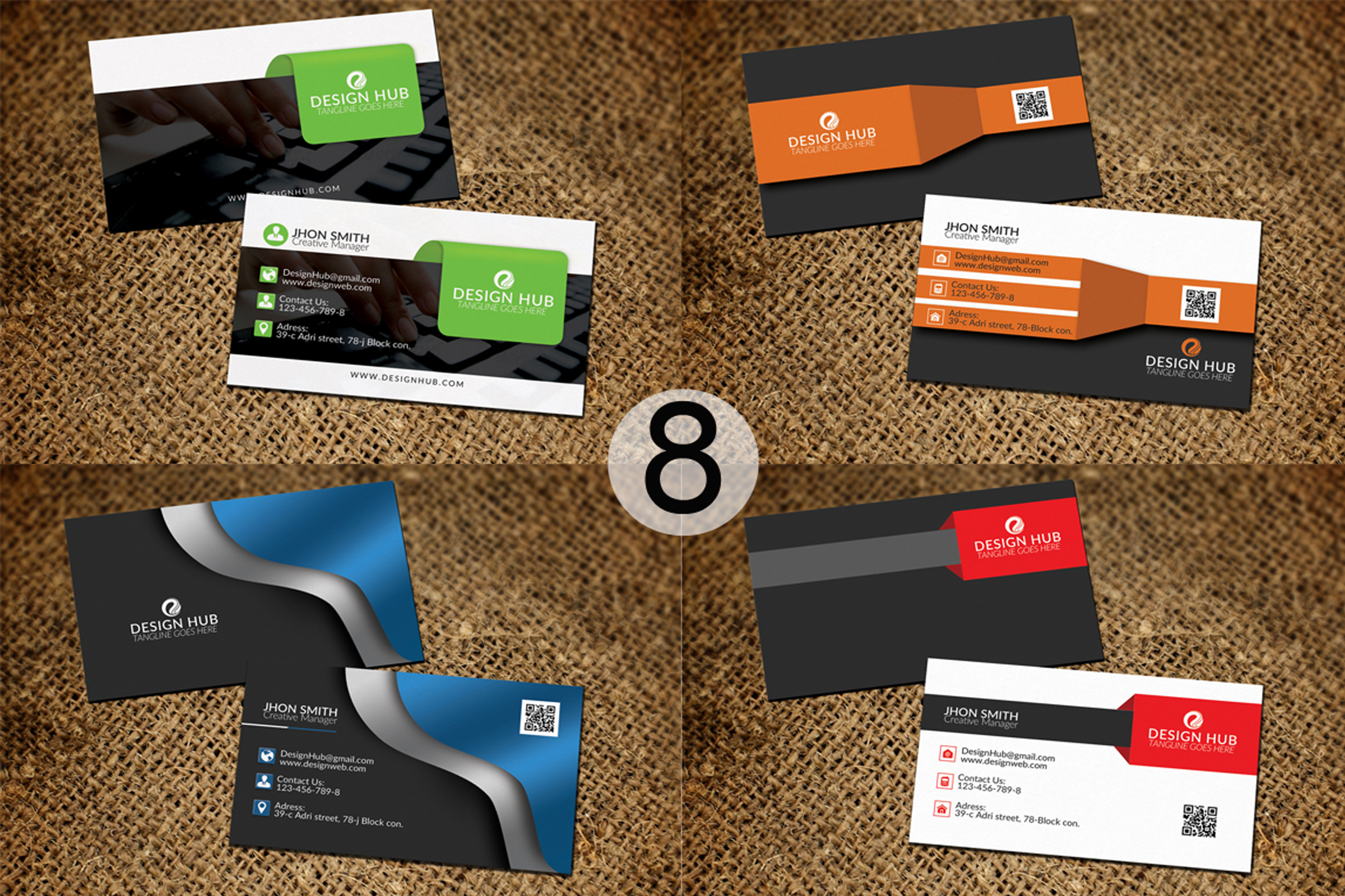 32 Business Cards Bundle Deal example image 9