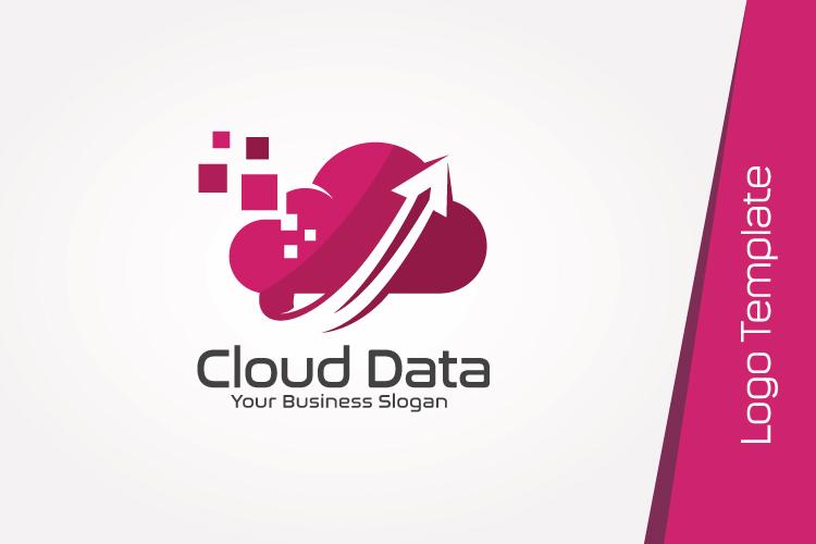 Cloud Data Logo Template example image 2