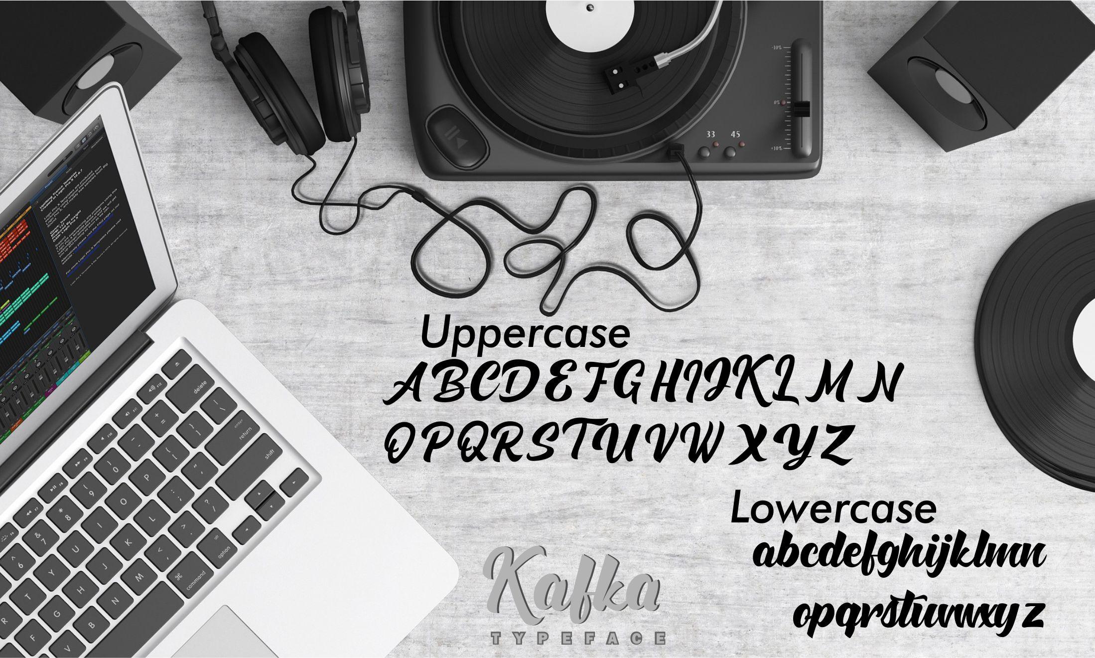 Kafka Typeface example image 7