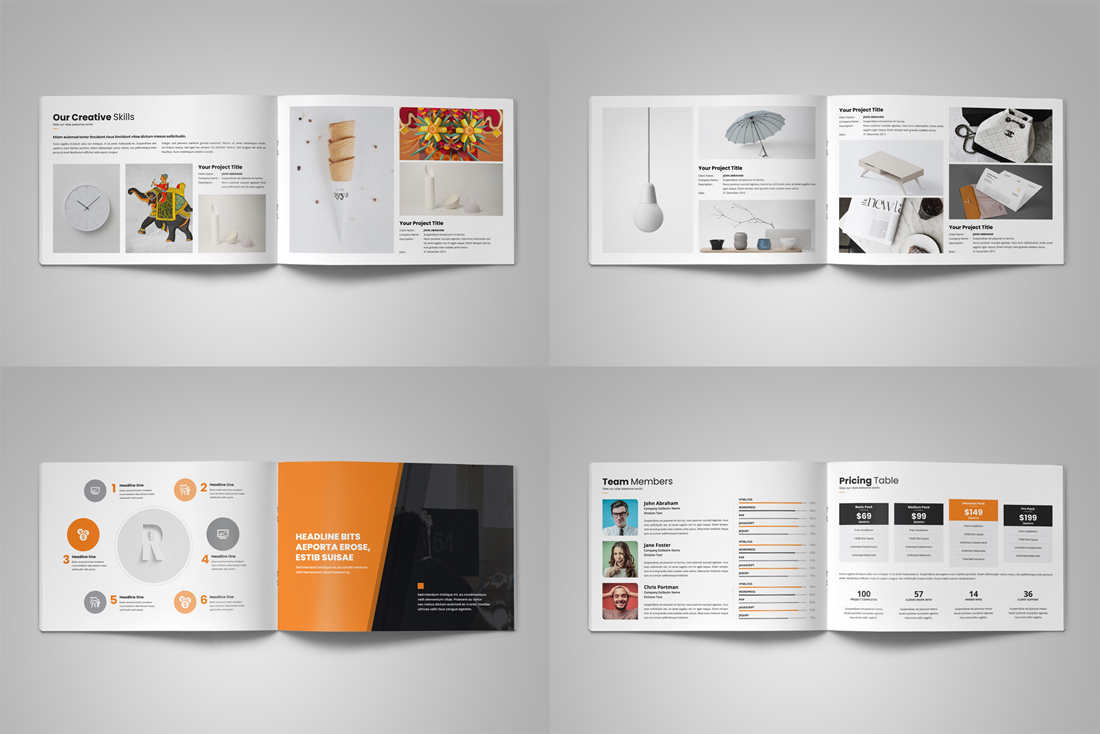 Portfolio Brochure Bundle example image 21