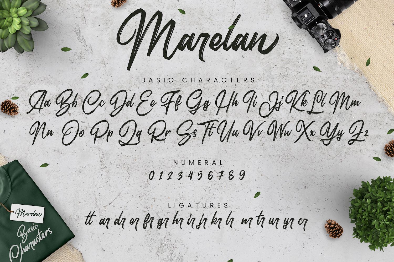 Marelan - Casual Handwritten Font example image 14