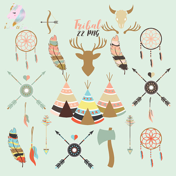 Tribal Clipart example image 1