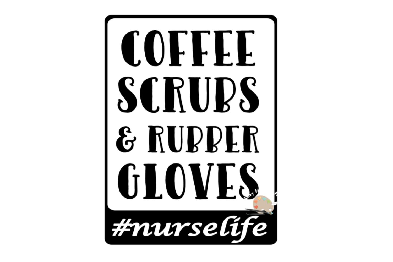 Nurse svg cut file, funny Nurse quote svg, Nurse life svg example image 3