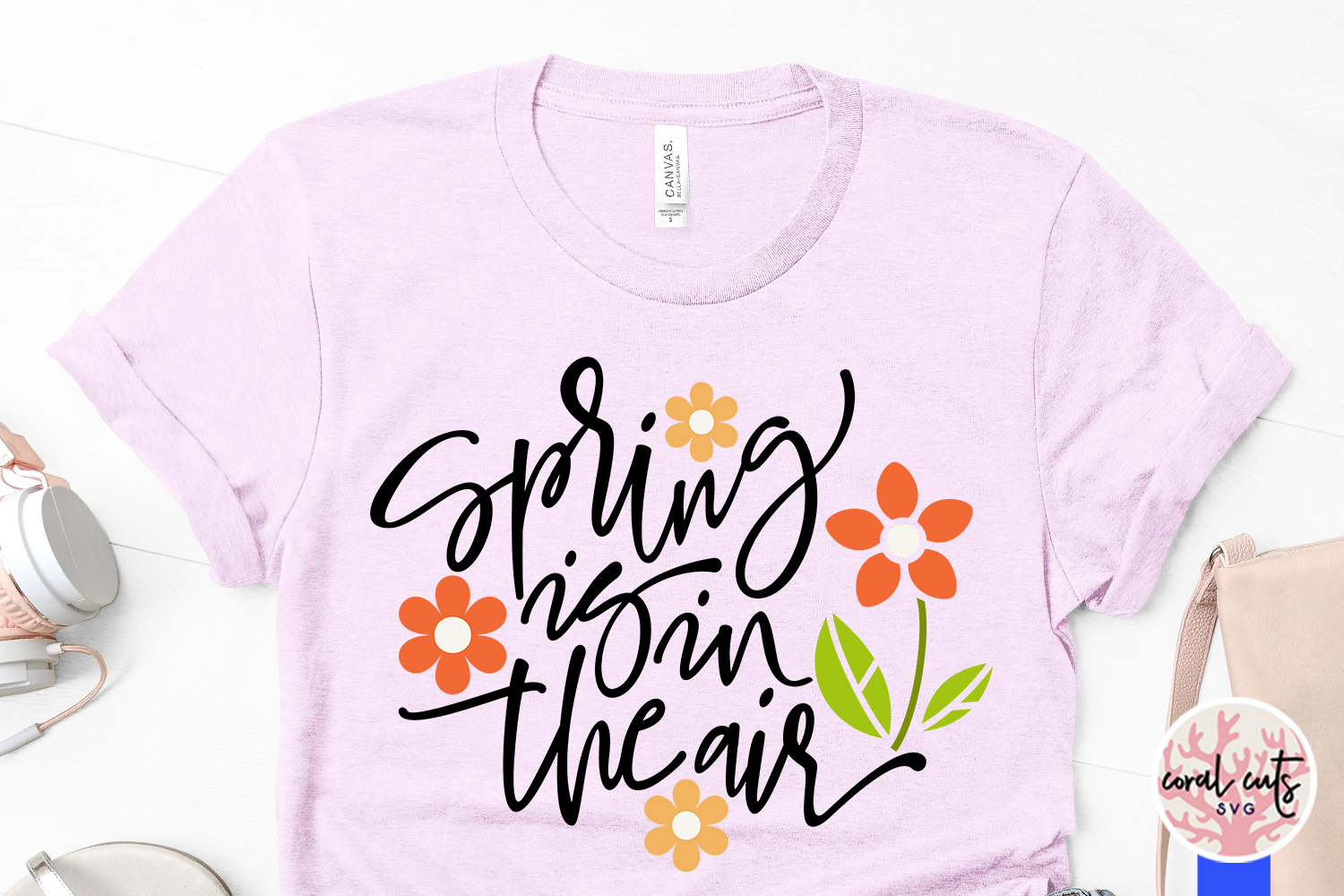 Spring is in the air - Easter SVG EPS DXF PNG Cutting File example image 3