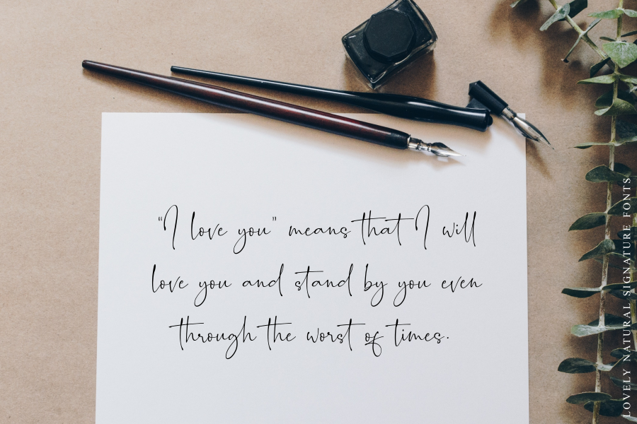 Romantically - Lovely Signature - example image 12