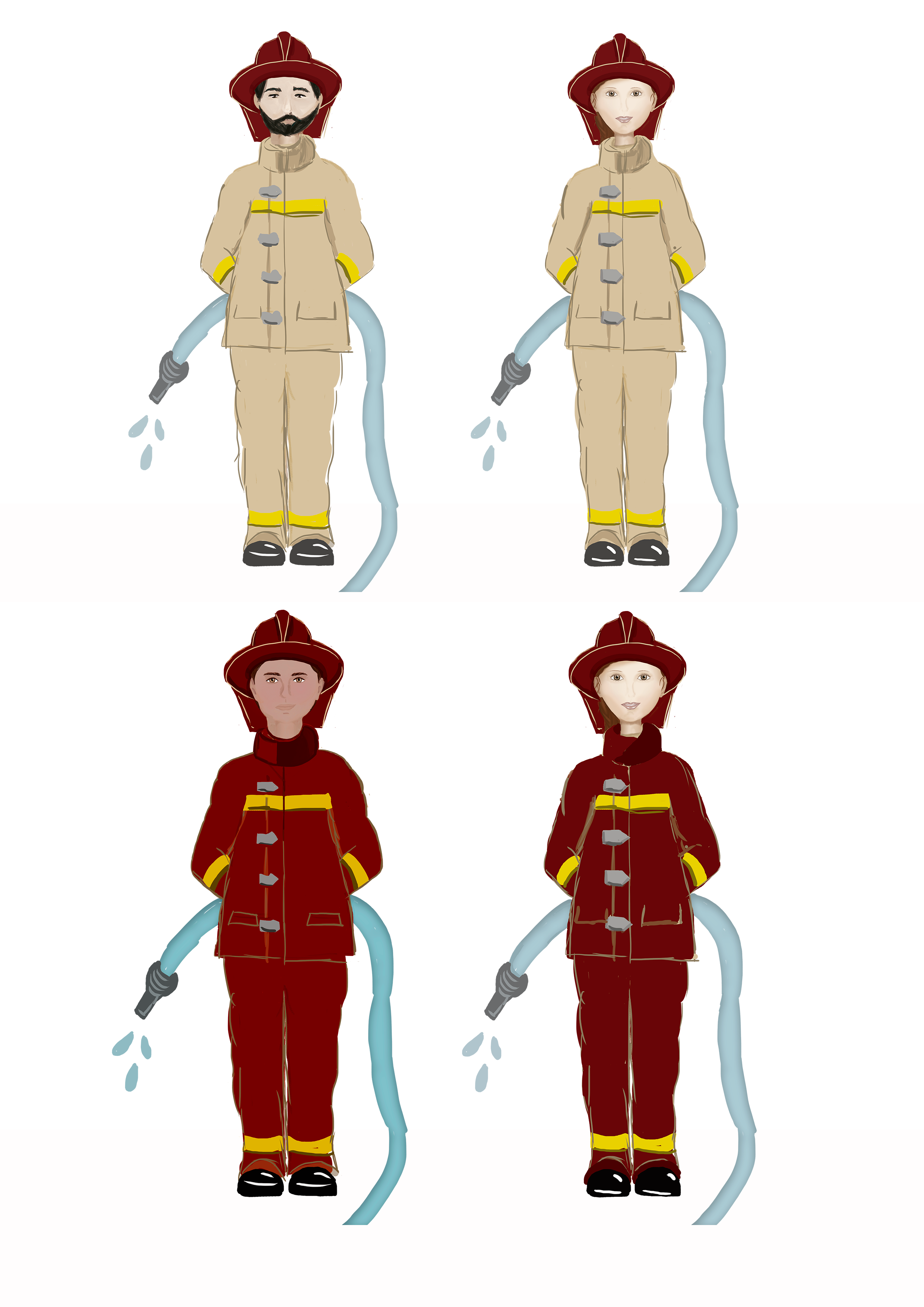 Profession's Characters example image 6