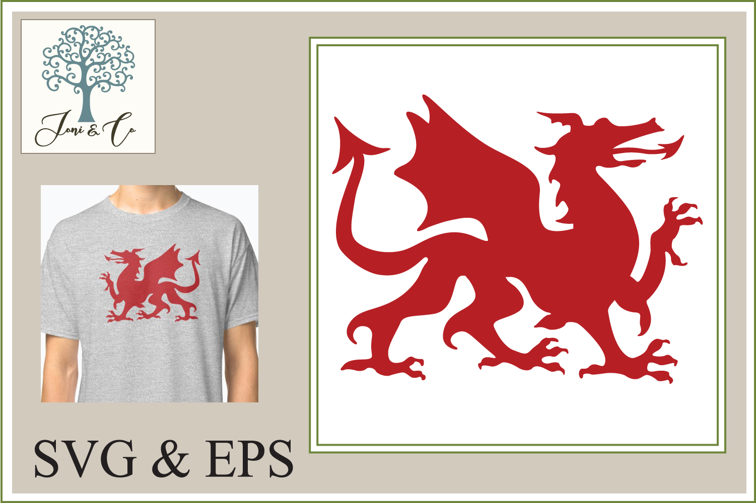 Welsh Dragon example image 1
