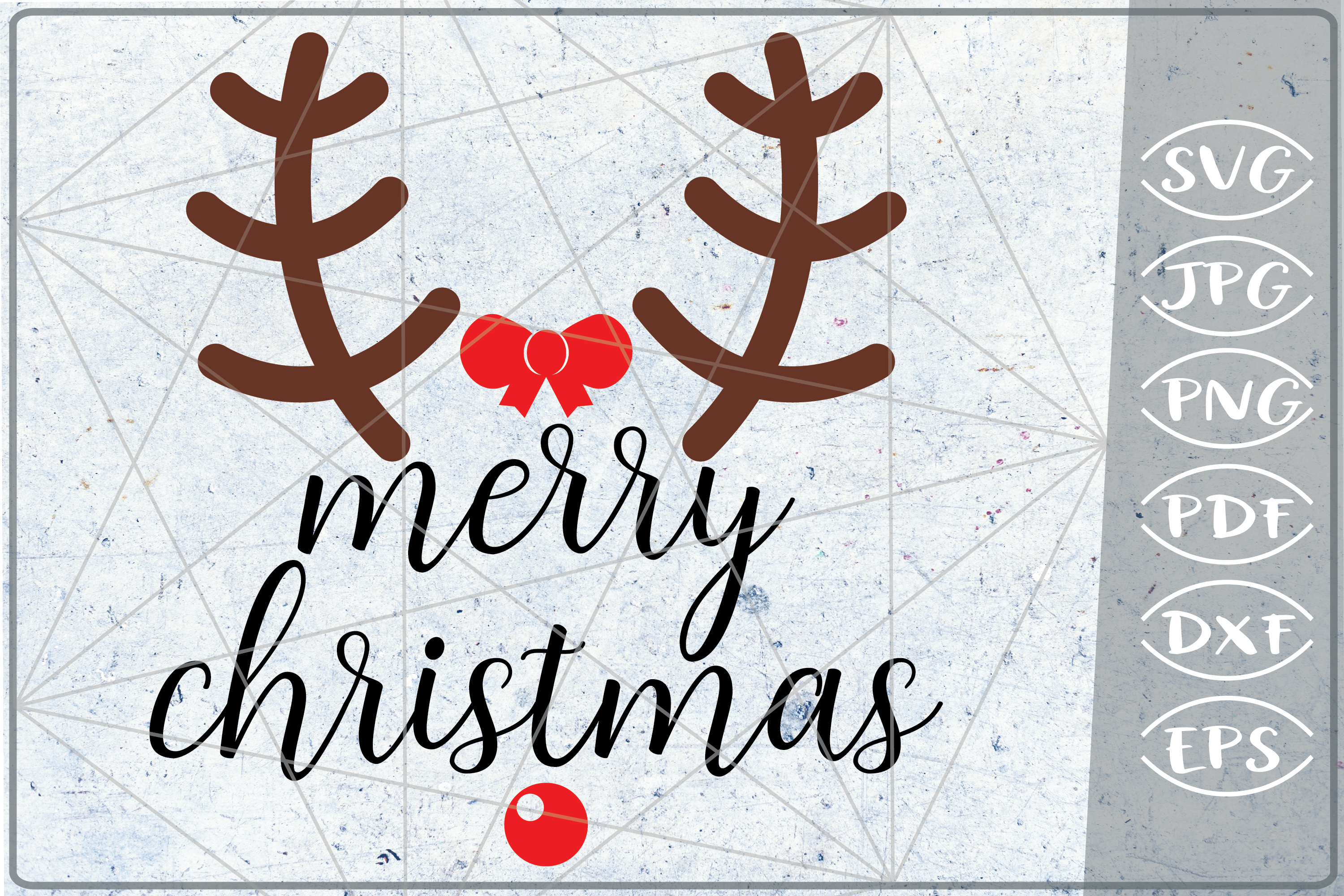 Merry Christmas Quote SVG example image 1